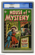 Golden Age (1938-1955):Horror, House of Mystery #13 Northford pedigree (DC, 1953) CGC VF/NM 9.0Cream to off-white pages. Leonard Starr cover. Jerry Grande...