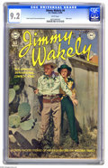 Golden Age (1938-1955):Western, Jimmy Wakely #4 (DC, 1950) CGC NM- 9.2 White pages....