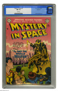 Golden Age (1938-1955):Science Fiction, Mystery in Space #6 Bethlehem pedigree (DC, 1952) CGC NM- 9.2 Creampages. As was the case for most issues of this title and...