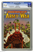 Golden Age (1938-1955):War, Our Army at War #2 Carson City pedigree (DC, 1952) CGC VF- 7.5 Off-white pages. Have a good look at this copy, as it may be ...