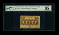 Fractional Currency:First Issue, Fr. 1279 25c First Issue PMG Gem Uncirculated 65 EPQ....
