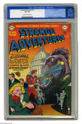 "Golden Age (1938-1955):Science Fiction, Strange Adventures #11 (DC, 1951) CGC VF+ 8.5 Off-white to whitepages. ""The world wakes up screaming!"" Better call on Capta..."