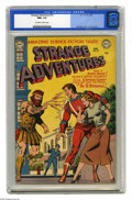 Golden Age (1938-1955):Science Fiction, Strange Adventures #19 (DC, 1952) CGC NM+ 9.6 Off-white to whitepages. Captain Comet stars on this issue's cover, as he and...