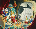 "Original Comic Art:Miscellaneous, Carl Barks - ""In the Cave of Ali Baba"" Jeweled Mc Duck EditionLithograph Print #118/245 (Another Rainbow, 1997)...."