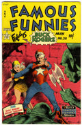 Golden Age (1938-1955):Science Fiction, Famous Funnies #211 (Eastern Color, 1954) Condition: VG....