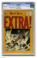 Golden Age (1938-1955):Crime, Extra! #4 Gaines File pedigree (EC, 1955) CGC NM 9.4 Cream to off-white pages. Another mind-blowing issue from Gaines' files...