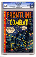 Golden Age (1938-1955):War, Frontline Combat #5 Gaines File pedigree (EC, 1952) CGC NM/MT 9.8 Off-white pages. Just a stunning copy with CGC's highest g...