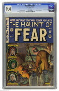 Golden Age (1938-1955):Horror, Haunt of Fear #11 Gaines File pedigree 5/12 (EC, 1952) CGC NM 9.4White pages. Comics printed by EC, even file copies from p...