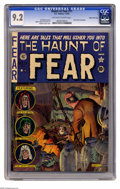 Golden Age (1938-1955):Horror, Haunt of Fear #11 Gaines File pedigree (EC, 1952) CGC NM- 9.2Off-white to white pages. This issue is renowned for its Graha...