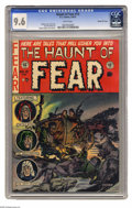 Golden Age (1938-1955):Horror, Haunt of Fear #13 Gaines File pedigree 3/12 (EC, 1956) CGC NM+ 9.6White pages. CGC's current census shows only one copy of ...