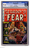 Golden Age (1938-1955):Horror, Haunt of Fear #15 Gaines File pedigree (EC, 1952) CGC NM+ 9.6Off-white pages. Graham Ingels delivered another otherworldly ...