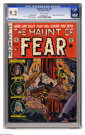 Golden Age (1938-1955):Horror, Haunt of Fear #15 (EC, 1952) CGC NM- 9.2 Off-white pages. A kingoffers a rival his daughter's hand in marriage... and we do...