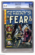 "Golden Age (1938-1955):Horror, The Haunt of Fear #1 (Arnold Book Co., 1954) CGC VG 4.0 Light tanto off-white pages. The ""#1"" and the fact that this is a g..."