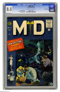 Golden Age (1938-1955):Miscellaneous, M.D. #2 Gaines File pedigree 1/12 (EC, 1955) CGC VF+ 8.5 Off-white to white pages. Johnny Craig cover. Reed Crandall, George...