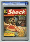 Magazines:Crime, Shock Illustrated #2 (EC, 1956) CGC VF- 7.5 Cream to off-whitepages. Art by Reed Crandall, Al Williamson (with an Angelo To...