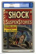 Golden Age (1938-1955):Horror, Shock SuspenStories #4 Gaines File pedigree (EC, 1952) CGC NM+ 9.6Off-white to white pages. Wally Wood's dynamic cover come...