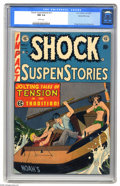 Golden Age (1938-1955):Horror, Shock SuspenStories #11 Gaines File pedigree (EC, 1953) CGC NM 9.4White pages. This suspense-packed issue features stories ...