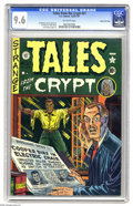Golden Age (1938-1955):Horror, Tales From the Crypt #21 Gaines File pedigree (EC, 1951) CGC NM+9.6 Off-white pages. Wally Wood provided the art for this i...