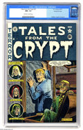 Golden Age (1938-1955):Horror, Tales From the Crypt #23 Gaines File pedigree 1/10 (EC, 1951) CGCNM+ 9.6 Off-white to white pages. This is a beautiful and ...