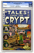 Golden Age (1938-1955):Horror, Tales From the Crypt #25 Gaines File pedigree (EC, 1951) CGC NM+9.6 Off-white pages. This book's Jack Kamen-drawn tale posi...