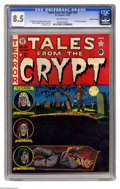 Golden Age (1938-1955):Horror, Tales From the Crypt #28 Gaines File pedigree (EC, 1952) CGC VF+8.5 Off-white pages. Al Feldstein cover. Jack Davis, Joe Or...