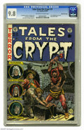 Golden Age (1938-1955):Horror, Tales From the Crypt #31 Gaines File pedigree (EC, 1952) CGC NM/MT 9.8 Off-white to white pages. This issue features the fir...