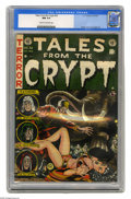 Golden Age (1938-1955):Science Fiction, Tales From the Crypt #32 (EC, 1952) CGC NM 9.4 Cream to off-whitepages. Jack Davis' cover illustration of a circus act gone...