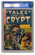 Golden Age (1938-1955):Horror, Tales From the Crypt #34 Gaines File pedigree 1/12 (EC, 1953) CGCNM+ 9.6 Off-white pages. Jack Davis handles the cover art ...