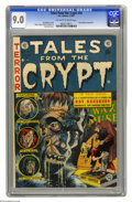 Golden Age (1938-1955):Horror, Tales From the Crypt #34 (EC, 1953) CGC VF/NM 9.0 Off-white towhite pages. Nice copy of an issue that shows off the cover a...