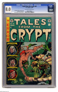 Golden Age (1938-1955):Horror, Tales From the Crypt #40 (EC, 1954) CGC VF 8.0 Off-white to whitepages. Jack Davis cover. Davis, George Evans, Bernie Krigs...