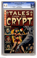 Golden Age (1938-1955):Horror, Tales From the Crypt #41 Gaines File pedigree 12/12 (EC, 1954) CGCNM- 9.2 Off-white to white pages. One of Jack Davis' most...