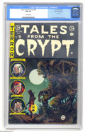 Golden Age (1938-1955):Horror, Tales From the Crypt #46 Gaines File pedigree 8/11 (EC, 1955) CGCNM 9.4 Off-white pages. The final issue of this title star...