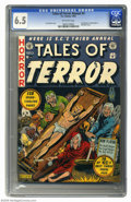 Golden Age (1938-1955):Horror, Tales of Terror Annual #3 (EC, 1953) CGC FN+ 6.5 Off-white pages.An Al Feldstein cover is cause enough to want this vintage...