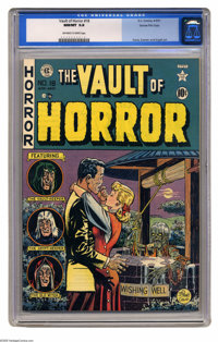 Vault of Horror #18 Gaines File pedigree 1/12 (EC, 1951) CGC NM/MT 9.8 Off-white to white pages. Even if Johnny Craig's...