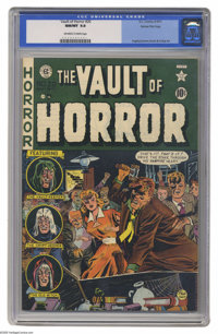 Vault of Horror #20 Gaines File pedigree 1/12 (EC, 1951) CGC NM/MT 9.8 Off-white to white pages. The all-around skills o...