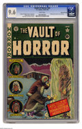Golden Age (1938-1955):Horror, Vault of Horror #22 Gaines File pedigree 11/12 (EC, 1951) CGC NM+9.6 White pages. This beautiful copy from the famed Gaines...