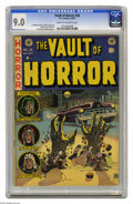 Golden Age (1938-1955):Horror, Vault of Horror #26 (EC, 1952) CGC VF/NM 9.0 Cream to off-whitepages. Johnny Craig followed up this great cover illustratio...