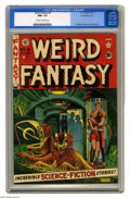Golden Age (1938-1955):Science Fiction, Weird Fantasy #8 Gaines File pedigree 3/12 (EC, 1951) CGC NM+ 9.6Off-white to white pages. Another fabulous copy and a test...