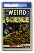 Golden Age (1938-1955):Science Fiction, Weird Science #11 Gaines File pedigree (EC, 1952) CGC NM 9.4 Creamto off-white pages. Jack Kamen didn't get respect from th...