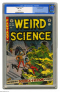Golden Age (1938-1955):Horror, Weird Science #22 Gaines File pedigree (EC, 1953) CGC NM- 9.2 Whitepages. With Wally Wood working on the cover, and Al Will...