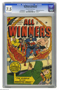 Golden Age (1938-1955):Superhero, All Winners Comics #21 (Timely, 1947) CGC VF- 7.5 Off-white to white pages. This one just doesn't turn up often in any condi...