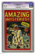 Golden Age (1938-1955):Horror, Amazing Mysteries #32 (Marvel, 1949) CGC Apparent FN- 5.5 Slight(A) Off-white to white pages. Considered the first Marvel h...