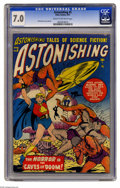 Golden Age (1938-1955):Science Fiction, Astonishing #5 (Atlas, 1951) CGC FN/VF 7.0 Cream to off-whitepages. Here's the only unrestored copy of this issue that CGC ...