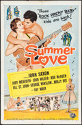 """Movie Posters:Rock and Roll, Summer Love & Other Lot (Universal International, 1958). OneSheets (2) (27"""" X 41"""") Bob Tollen Artwork. Rock and Roll.. ...(Total: 2 Items)"""