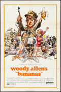 """Movie Posters:Comedy, Bananas & Other Lot (United Artists, 1971). One Sheets (27"""" X 41"""") Jack Davis Artwork, & International One Sheet (27"""" X 41"""")... (Total: 2 Items)"""