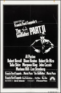 "Movie Posters:Crime, The Godfather Part II (Paramount, 1974). One Sheets (2) (27"" X 41"")Styles A & B. Crime.. ... (Total: 2 Items)"