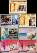 "Movie Posters:Foreign, La Nascita di Salome & Others Lot (Industrie Cinematografiche Italiane, 1940). Italian Photobustas (Approximately 13.75"" X 1... (Total: 7 Items)"