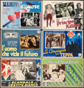 """Movie Posters:Comedy, The Man in the White Suit & Other Lot (Rank, 1951). Fine+.Italian Photobustas (7) (13.25"""" X 18.5"""" - 13.75"""" X 19.25"""").Comed... (Total: 7 Items)"""