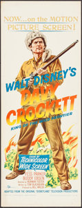 "Movie Posters:Western, Davy Crockett, King of the Wild Frontier (Buena Vista, 1955). Insert (14"" X 36""). Western.. ..."