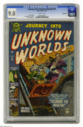 Golden Age (1938-1955):Horror, Journey Into Unknown Worlds #16 Bethlehem pedigree (Atlas, 1953)CGC VF/NM 9.0 Off-white pages. There's nothing scarier than...